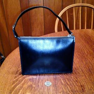 Vintage J. Crew Italian Leather small bag